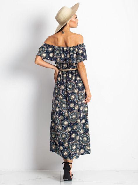 Granatowa sukienka Faraway                              zdj.                              2