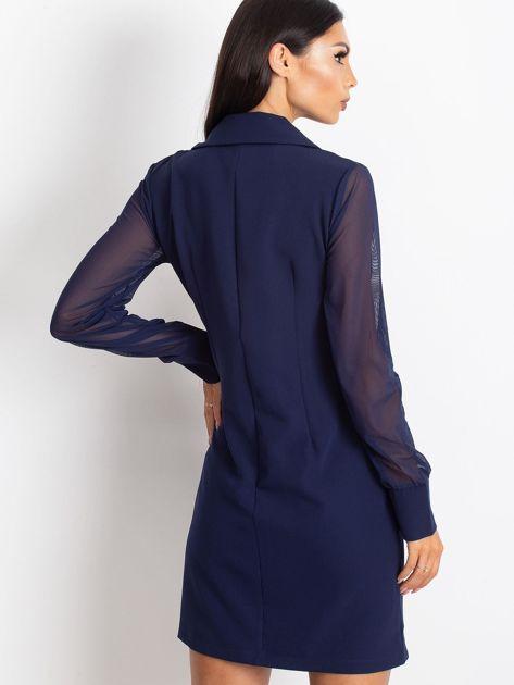 Granatowa sukienka Master                              zdj.                              2