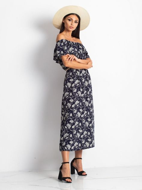 Granatowa sukienka Semen                              zdj.                              4