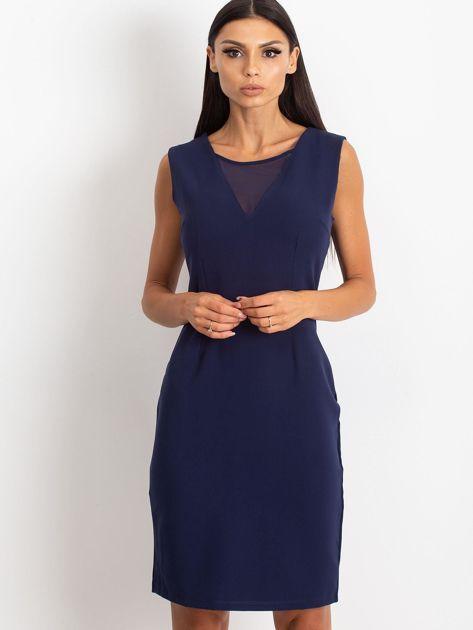 Granatowa sukienka Theme                              zdj.                              1
