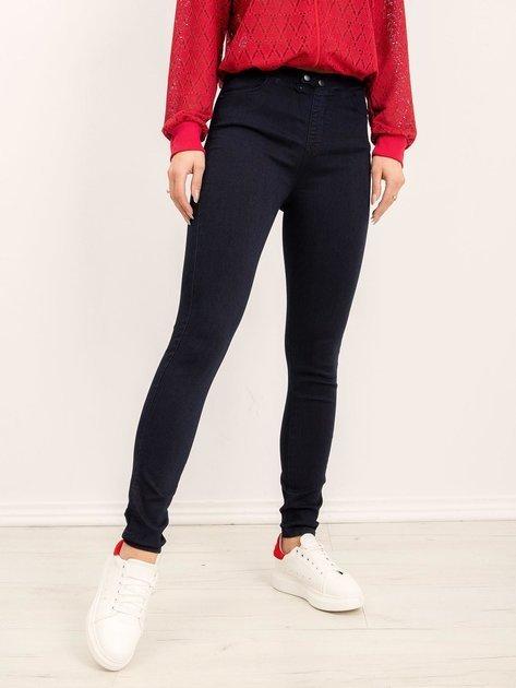Granatowe jeansy Atlanta