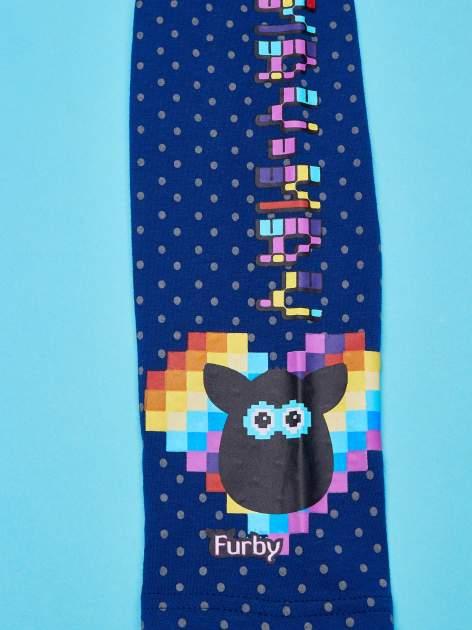 Granatowe legginsy dla dziewczynki FURBY                                  zdj.                                  4