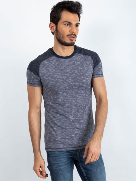 Granatowy t-shirt męski Everyday