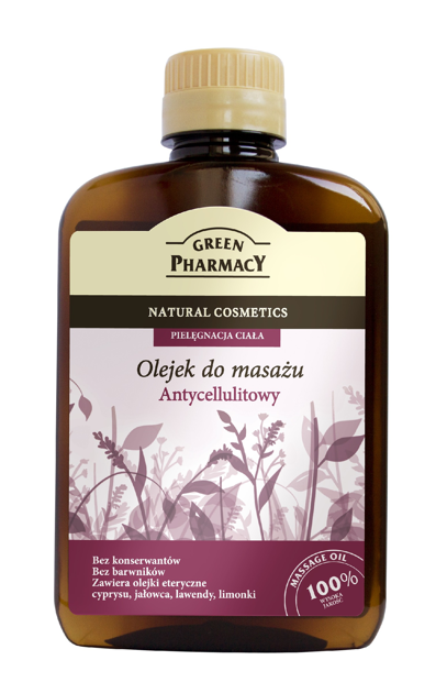Green Pharmacy Olejek do masażu Antycellulitowy 200 ml