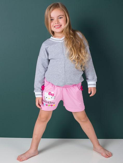 HELLO KITTY Różowe szorty dla dziewczynki