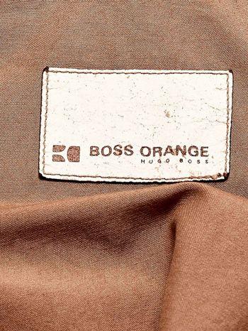 HUGO BOSS Brązowa kurtka męska w stylu militarnym                                  zdj.                                  4