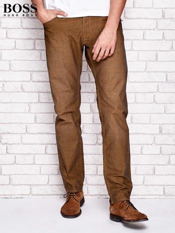 HUGO BOSS Khaki spodnie męskie                              zdj.                              1