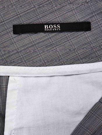HUGO BOSS Szare eleganckie spodnie męskie                                  zdj.                                  3
