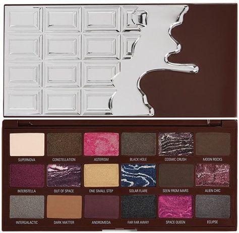 I Heart Revolution Galactic Chocolate Palette Paleta 18 cieni do powiek 22g