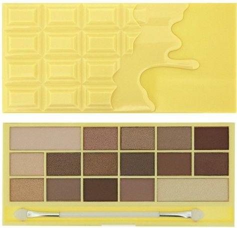 I Heart Revolution Naked Chocolate Palette Paleta 16 cieni do powiek 22g