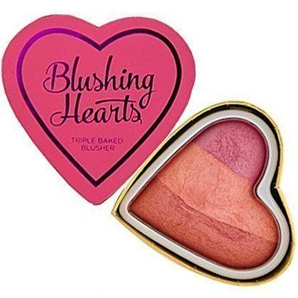 I ♥ Revolution Blushing Hearts Róż Candy Queen of Hearts 10g
