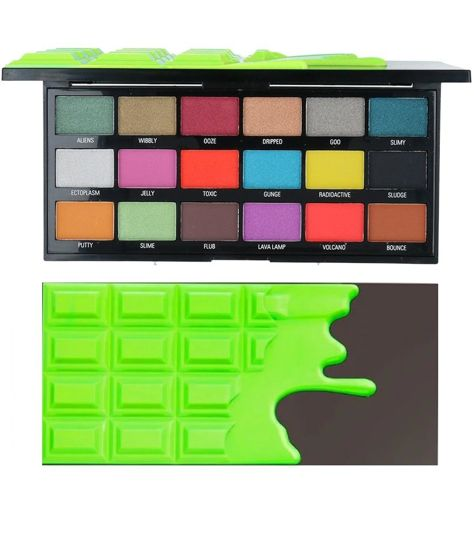 I ♥ Revolution Slime Chocolate Palette Paleta 18 Cieni Do Powiek