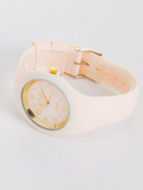 JELLY beżowy zegarek damski                               zdj.                              2