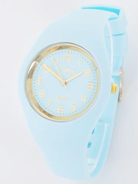 JELLY błękitny zegarek damski                               zdj.                              1