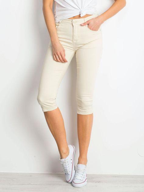 Jasnobeżowe spodnie Within                              zdj.                              1