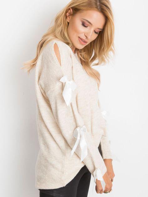 Jasnobeżowy sweter Montana                              zdj.                              3