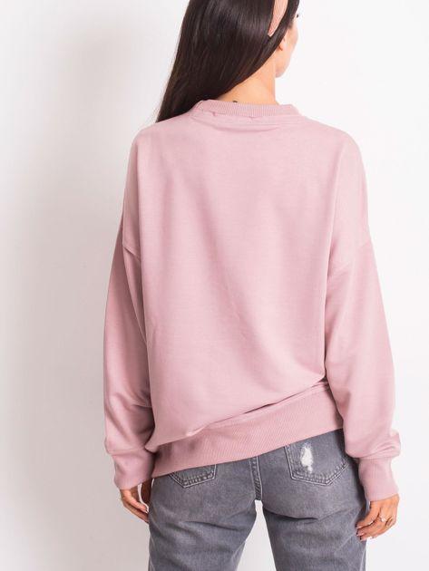 Jasnofioletowa bluza Wild                              zdj.                              2