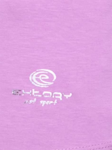 Jasnofioletowy top sportowy basic z dekoltem V                                  zdj.                                  5
