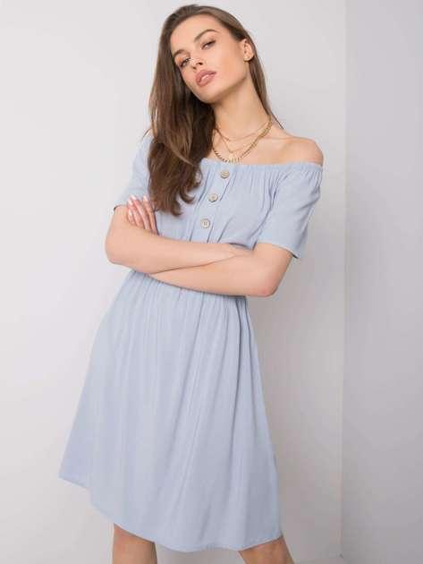 Jasnoniebieska sukienka Cori SUBLEVEL