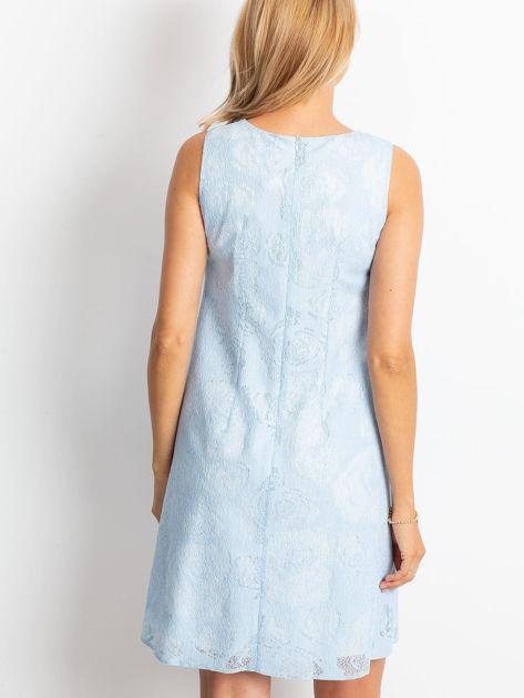 Jasnoniebieska sukienka Give                              zdj.                              2