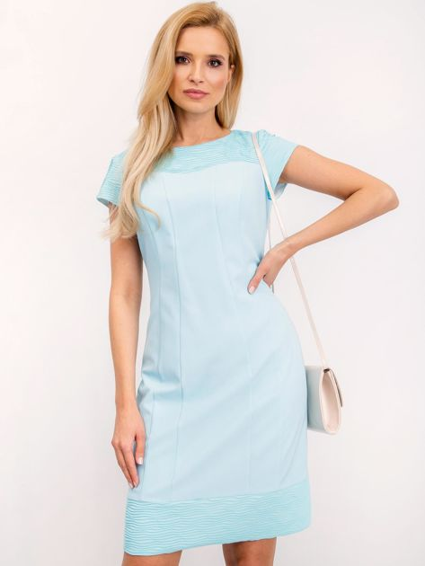 Jasnoniebieska sukienka Honey