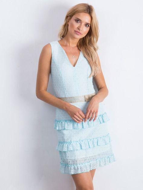 Jasnoniebieska sukienka Versatility                              zdj.                              1