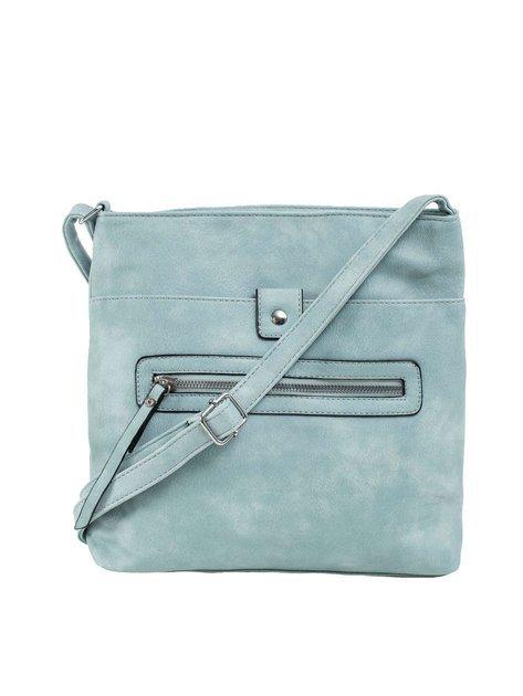 Jasnoniebieska torba damska na ramię