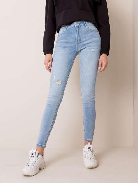 Jasnoniebieskie jeansy Phoebe