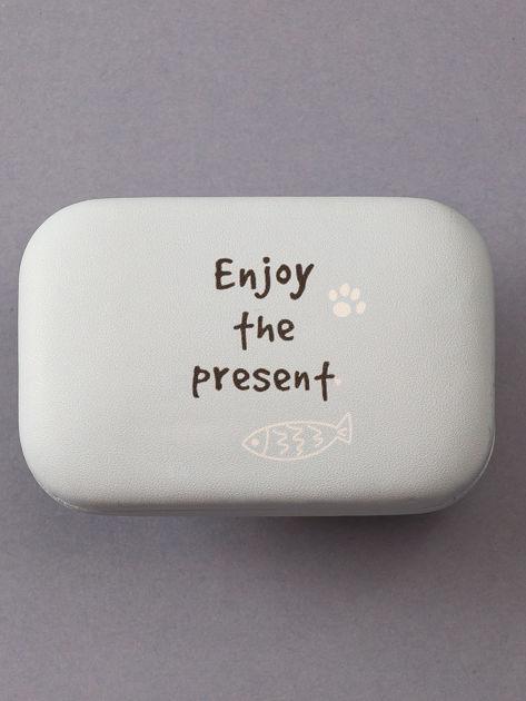 Jasnoniebieskie pudełko na szkła kontaktowe                              zdj.                              1