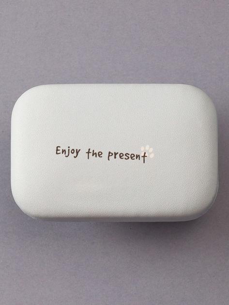 Jasnoniebieskie pudełko na szkła kontaktowe                              zdj.                              3