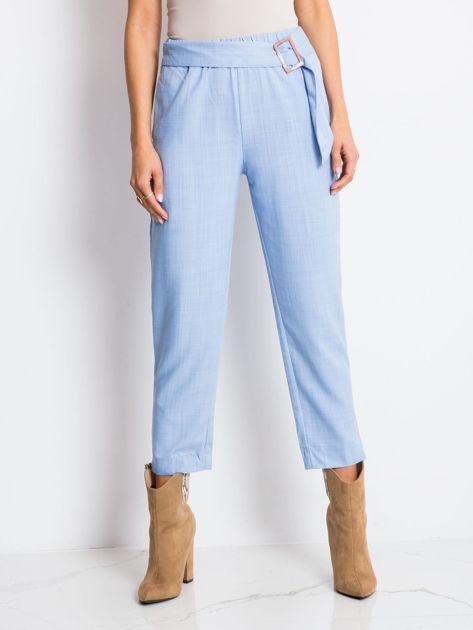 Jasnoniebieskie spodnie Drive                              zdj.                              1
