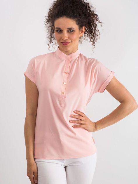 827f9586d5 Jasnoróżowa bluzka Moonlight - Bluzka na co dzień - sklep eButik.pl