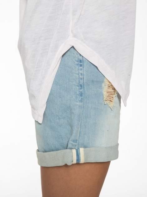 Jasnoróżowa bluzka z asymetrycznym cięciem na dole                                  zdj.                                  12