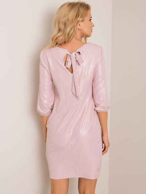 Jasnoróżowa sukienka Beautiful