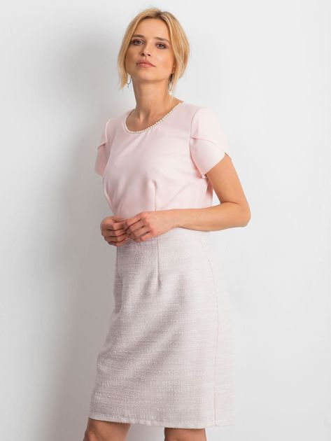 Jasnoróżowa sukienka Breathtaking                              zdj.                              3