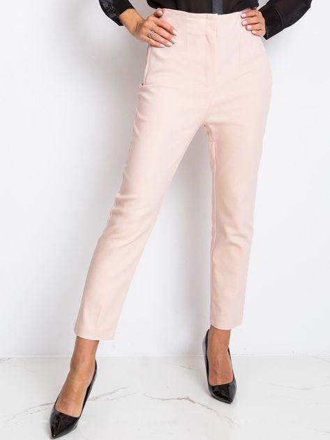 Jasnoróżowe spodnie Hyper                              zdj.                              1
