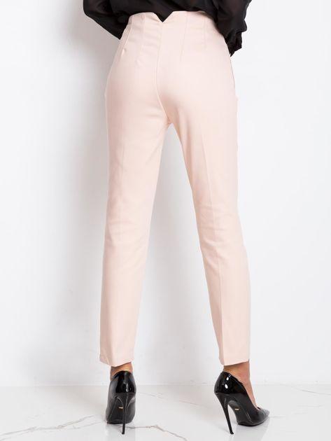 Jasnoróżowe spodnie Hyper                              zdj.                              2