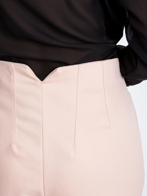 Jasnoróżowe spodnie Hyper                              zdj.                              5