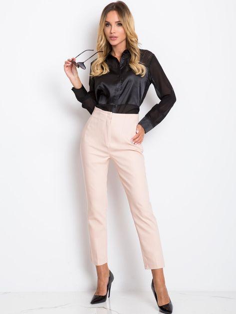 Jasnoróżowe spodnie Hyper                              zdj.                              4