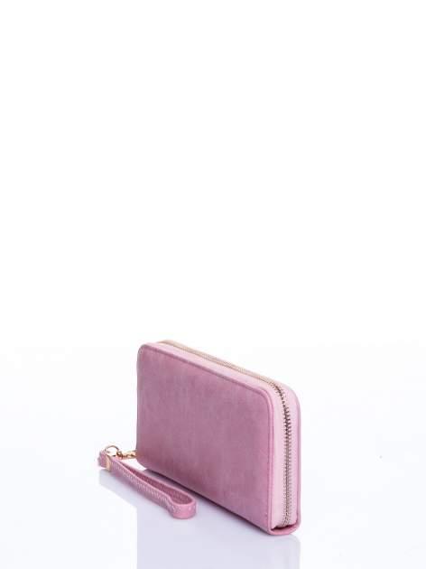 Jasnoróżowy portfel z rączką                                  zdj.                                  2
