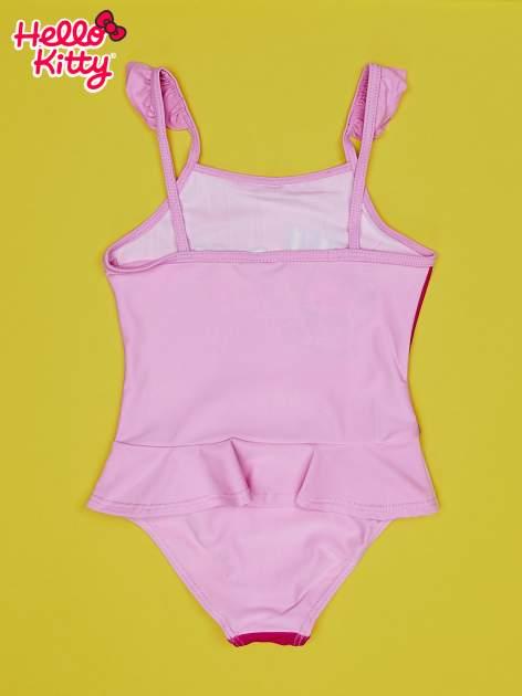 Jasnoróżowy strój kąpielowy dla dziewczynki HELLO KITTY                                  zdj.                                  2