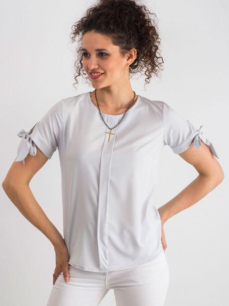 Jasnoszara bluzka Heatwave                              zdj.                              1
