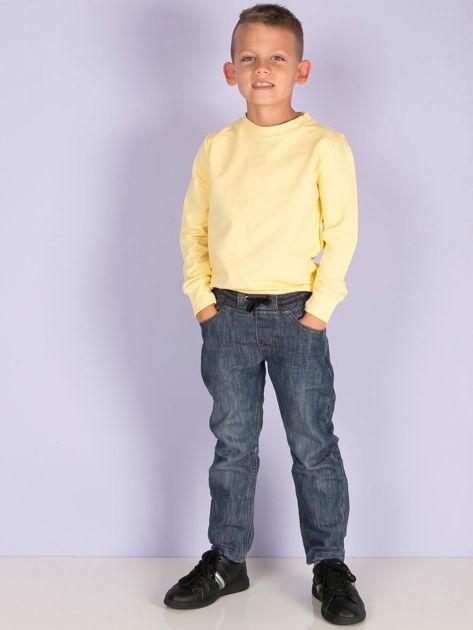 Jasnożółta bluza młodzieżowa                              zdj.                              6