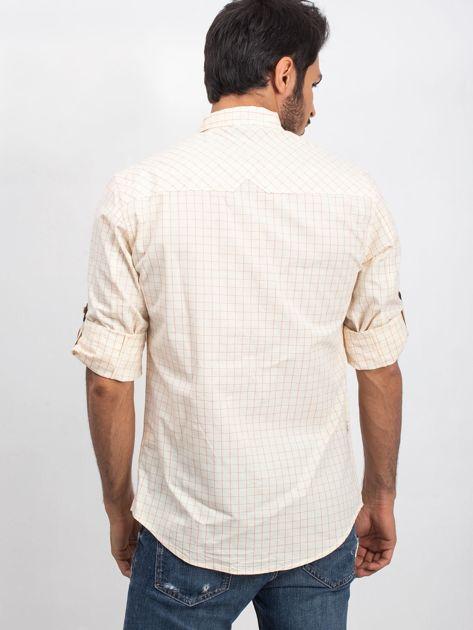 Jasnożółta koszula męska Concrete                              zdj.                              2