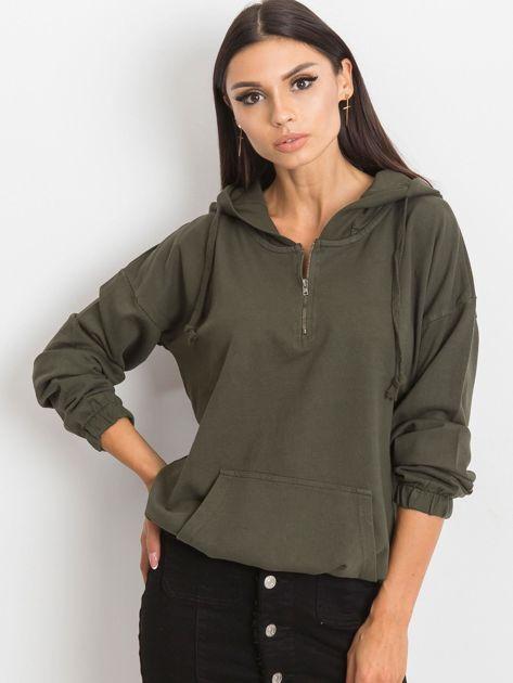 Khaki bluza Kimmie                              zdj.                              1