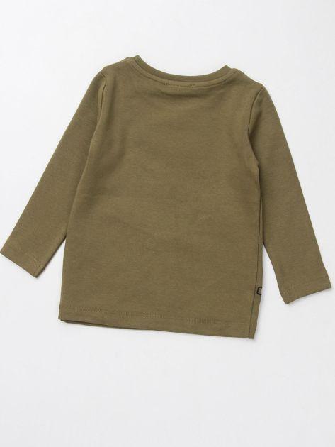 Khaki bluzka dla chłopca                               zdj.                              3