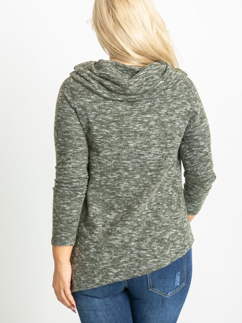 Khaki bluzka plus size Rave                              zdj.                              2