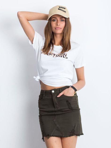 Khaki spódnica Along                              zdj.                              5