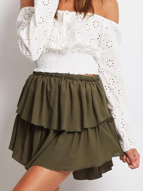 Khaki spódnica Loading                              zdj.                              1
