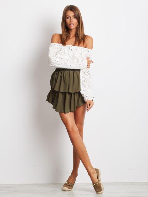 Khaki spódnica Loading                              zdj.                              4